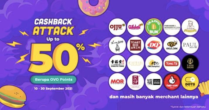 OVO cashback Attack September 2021