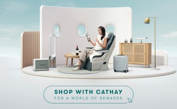 Cathay Pacific Belanja