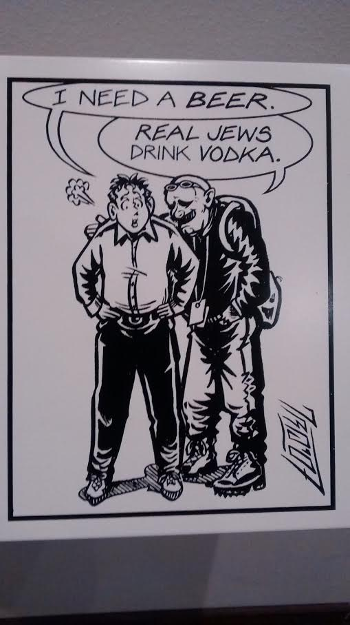 cartoon vodka beer