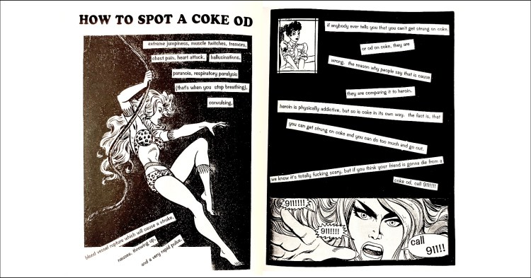 junkphood - How to Spot a Coke OD