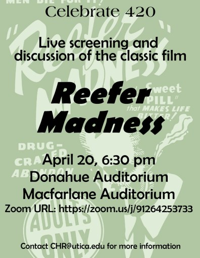 Reefer Madness Talk Poster