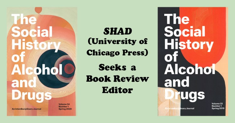 SHAD Book Review Editor card