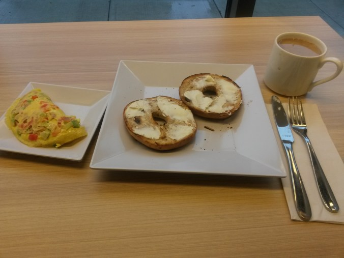 Hyatt House Portland Review - Breakfast