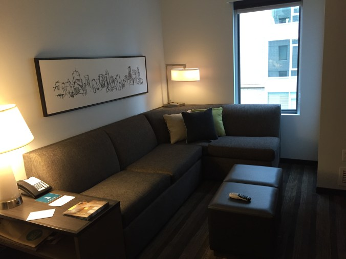 Hyatt House Portland - Living Room
