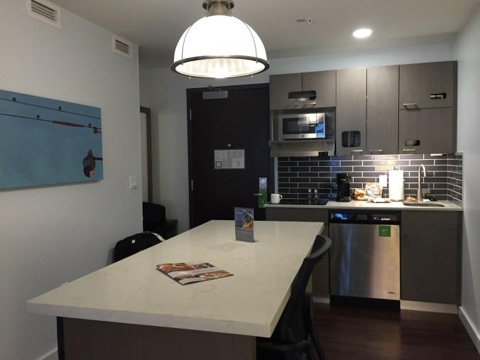 Hyatt Hours Portland Review - Kitchen