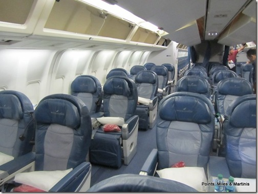 Delta 767 International Business Class Review On Domestic