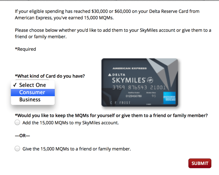 Delta mqm credit card poemview adding delta mqms from reserve credit card points miles reheart Choice Image