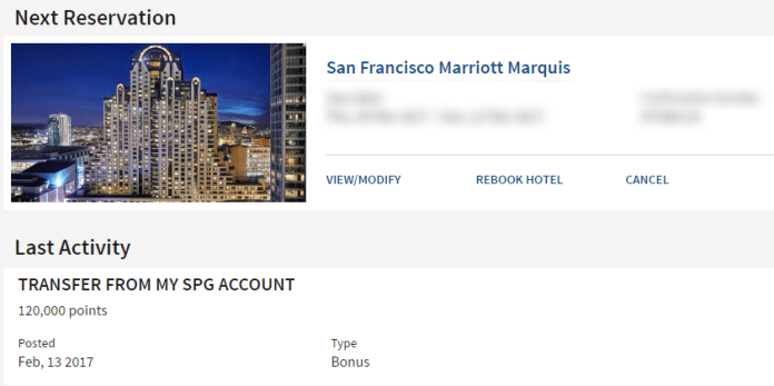 Marriott Stay SFO