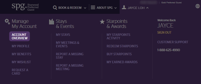 SPG Account Overview