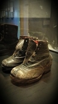 Baby Boots in the Museum