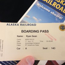 All aboard for Girdwood!