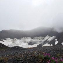 Glacier on Mount Alyeska