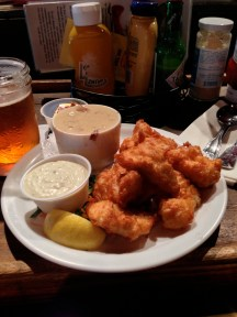Beer battered Halibut at F Street Station