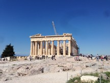 The Parthenon at the Acropolis, Athens