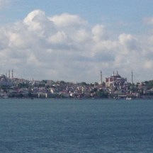 Sailing into Istanbul
