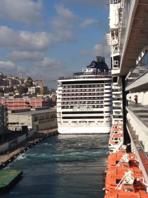 MSC Deliciosa from Nieuw Amsterdam Istanbul