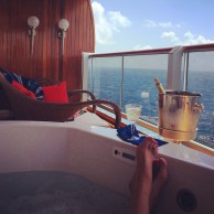Hot Tub Wine Sailaway