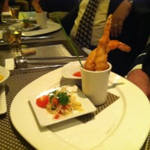 Shrimp Tempura Indochine at Tamarind