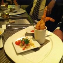 Shrimp Tempura Indochine at Tamarind