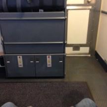 Plenty of leg room in row 1