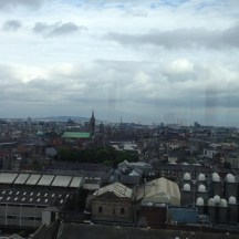 "View from the ""GRAVITY Bar"" at the Guinness Storehouse"