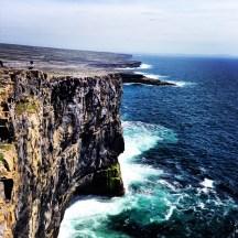 Cliffs at Dun Aonghasa