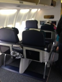 Aer Lingus B757-200 Business Cabin