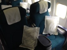 Aer Lingus B757-200 Business Class Seats 2A and 2C
