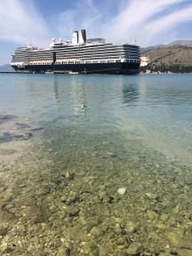 Nieuw Amsterdam docket in Argostoli, Cephalonia (Kefalonia)