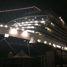 Our last night on the Nieuw Amsterdam
