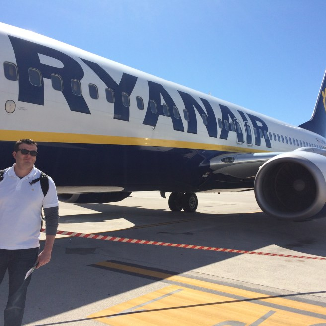 Boarding my first Ryanair flight