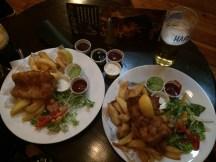 Fish and Chips at O'Neills