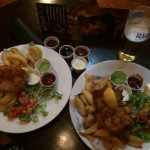 Fish and Chips at O'Neills