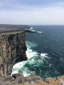 Cliffs at Dun Aonghasa