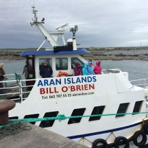 Our ferry out to see the Cliffs of Moher