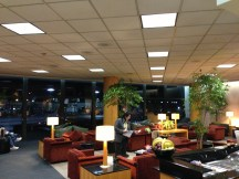 United Global First Class Lounge - LAX