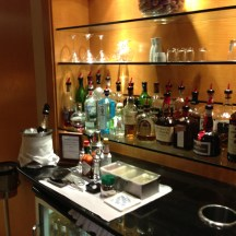 The Bar at United's Global First Class Lounge LAX
