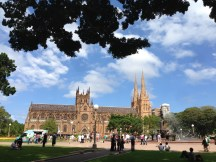 St. Mary's Cathedral in Hyde Park