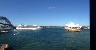 Rhapsody of the Seas Sydney Harbour