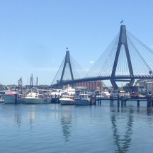 ANZAC Bridge from Sydney Fish Market