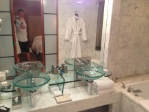 Bathroom at Park Hyatt Melbourne
