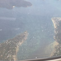 Manly area after takeoff from SYD