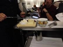 Cheese and Desert Cart