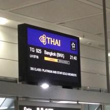 Next Stop: Bangkok!