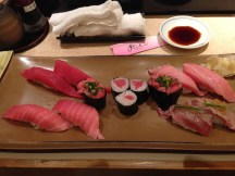 Sashimi at Sushi Zamai