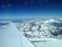 Andes Mountains from a LAN B787