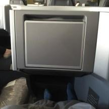 Plenty of legroom in seat 6D in the new AA B767 Business Class cabin
