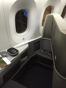 B787-8 Business class (forward-facing)