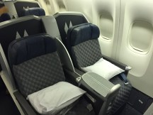 """B777-200 """"old"""" configuration Business Class"""