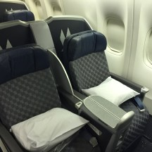 "B777-200 ""old"" configuration Business Class"